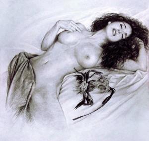 homme femme-nue-noir-300x284